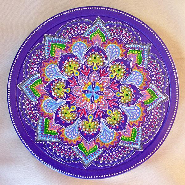 Роспись тарелок узоры